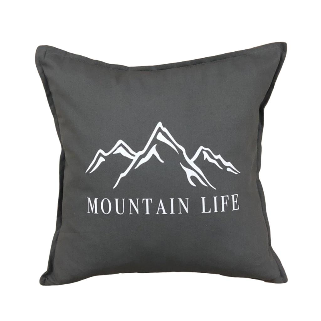 Mountain Life Pillow