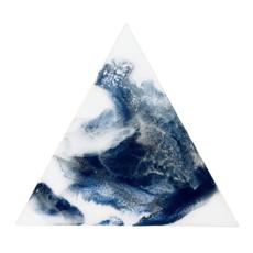 Blue Mountain Frost Art