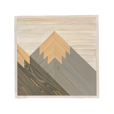 Handcrafted Mountain Art