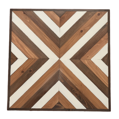 Geometric Wooden Wall Art