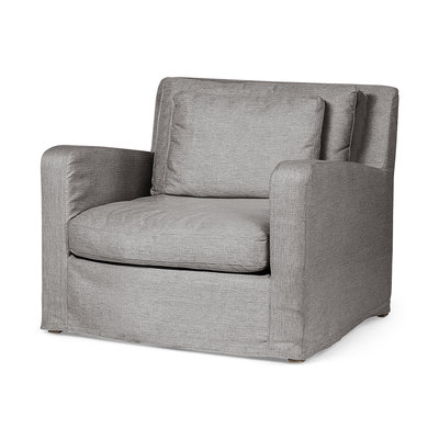 Denly III Chair (Flint Grey)