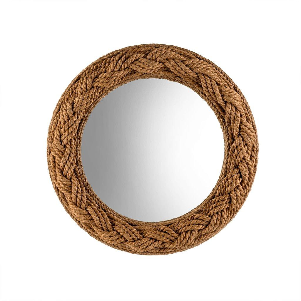 Adelaide Round Rope Mirror