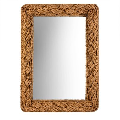 Adelaide Rectangle Rope Mirror