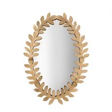 Oval Gold Vine Mirror