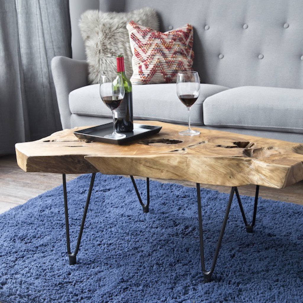 Natura Hairpin Coffee Table