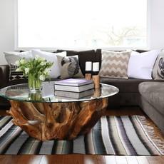 Natura Round Coffee Table