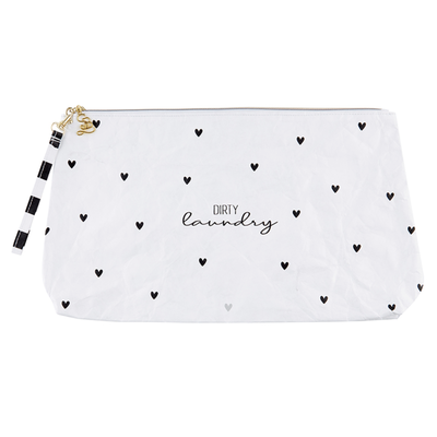 Dirty Laundry Tyvek Travel Pouch