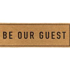 Be Our Guest Door Mat