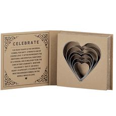 Heart Cookie Cutter Set