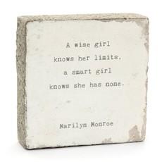 A Wise Girl Art Block