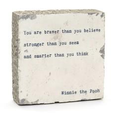 You are Braver Art Block