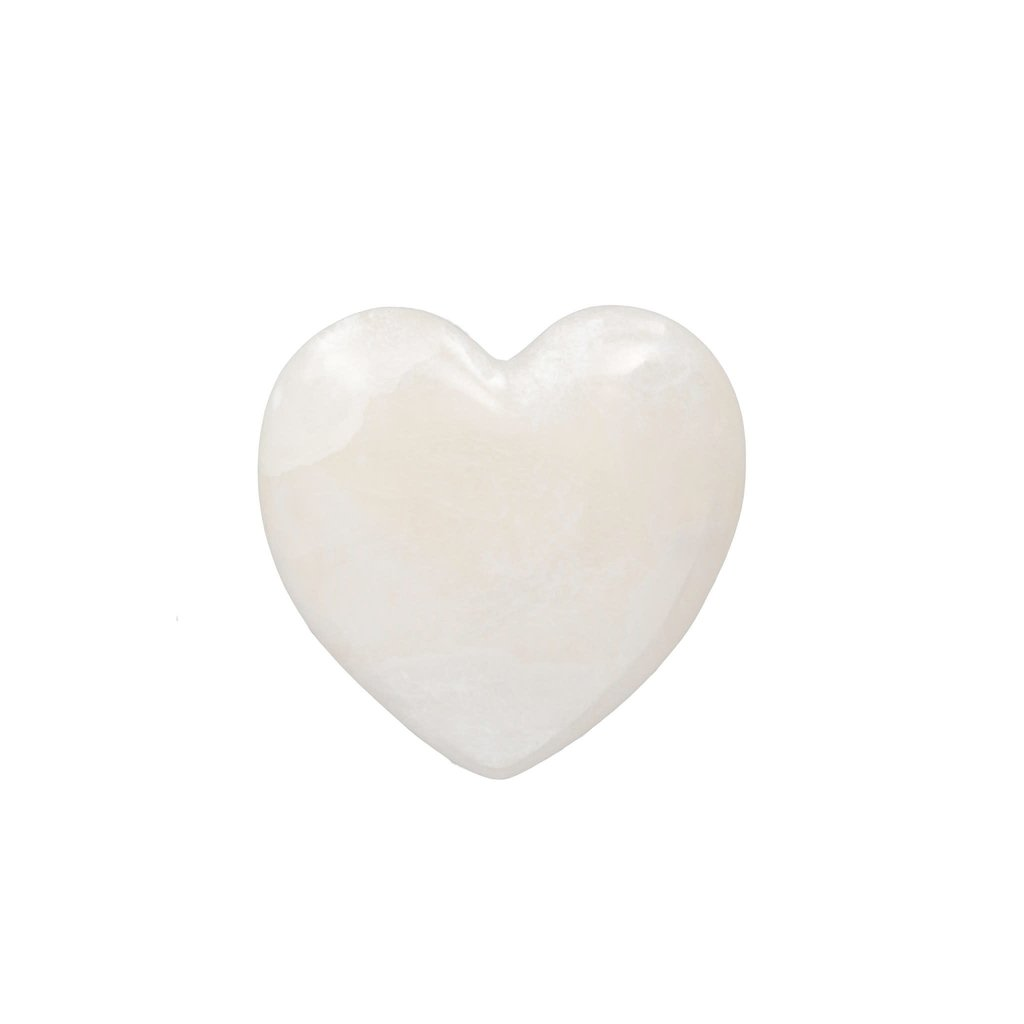 Large Alabaster Stone Heart