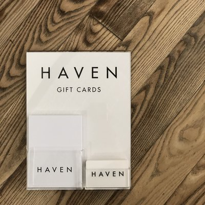 HAVEN $50 Gift Card