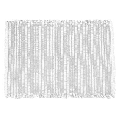 Monterey Grey Striped Placemat