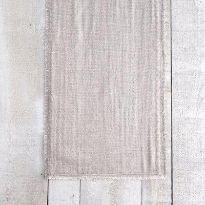 Monterey Grey Striped Table Runner
