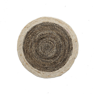 Natural Grey Round Placemat