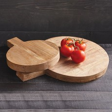 Large Round Cutting Board