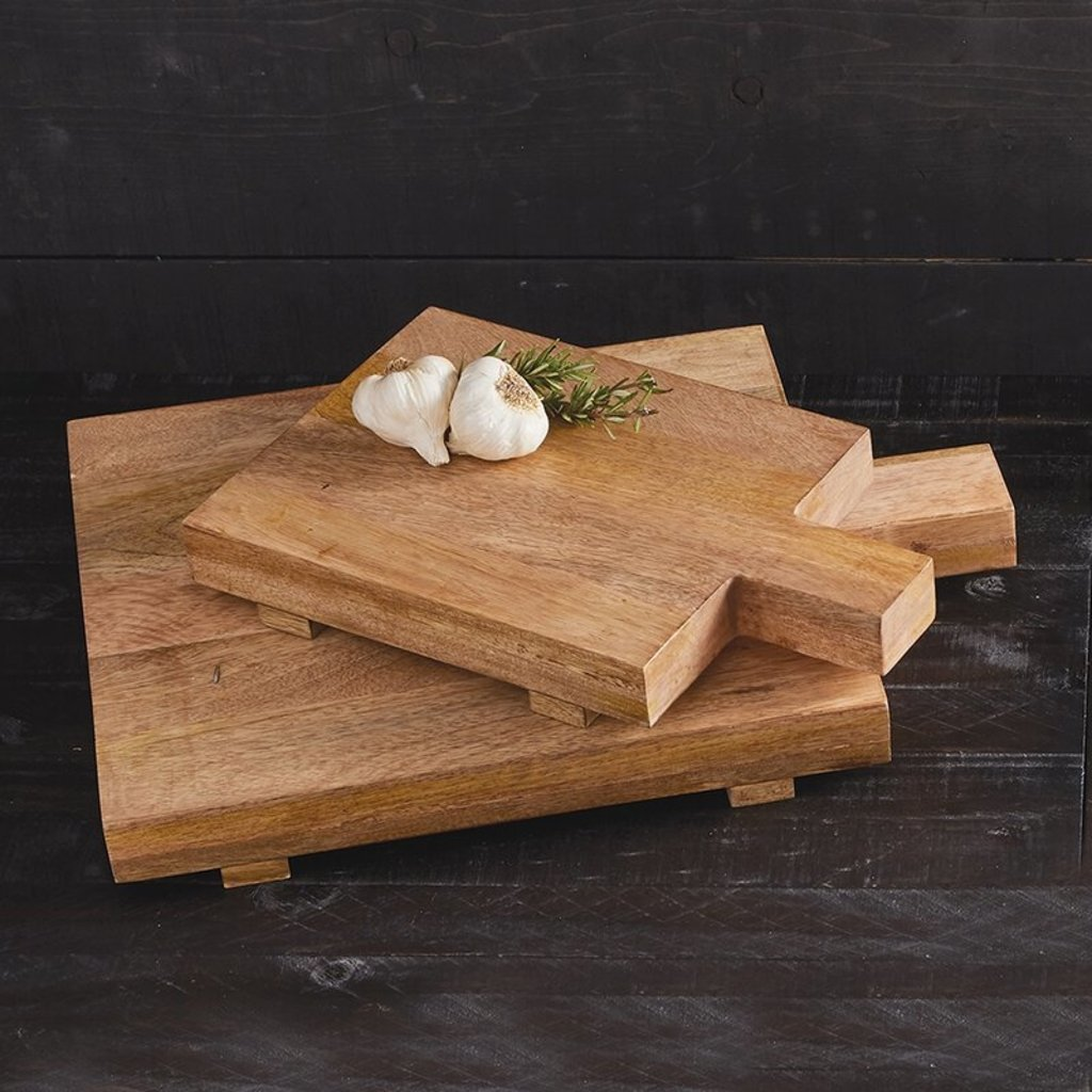 Large Square Foot Cutting Board