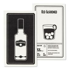 Bourbon & Old Fashioned Dishcloth