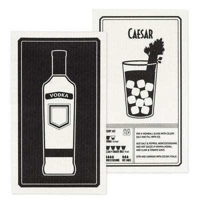 Vodka & Caesar Dishcloth