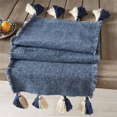 Navy Ponchaa Table Runner