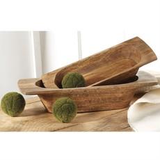 Wooden Dough Bowls