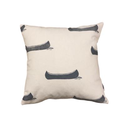 Grey Canoe Cushion