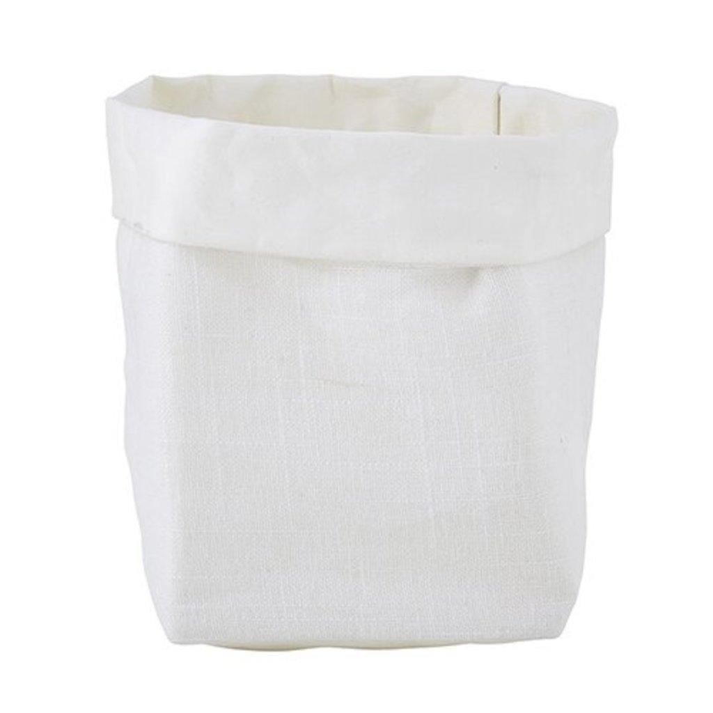 White Linen Holders