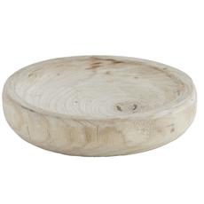 Small Natural Paulownia Bowl