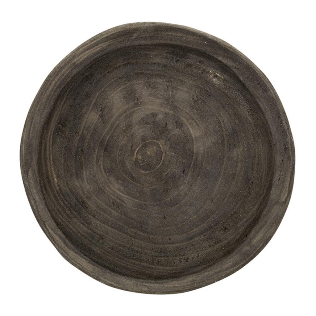 Small Charcoal Paulownia Bowl