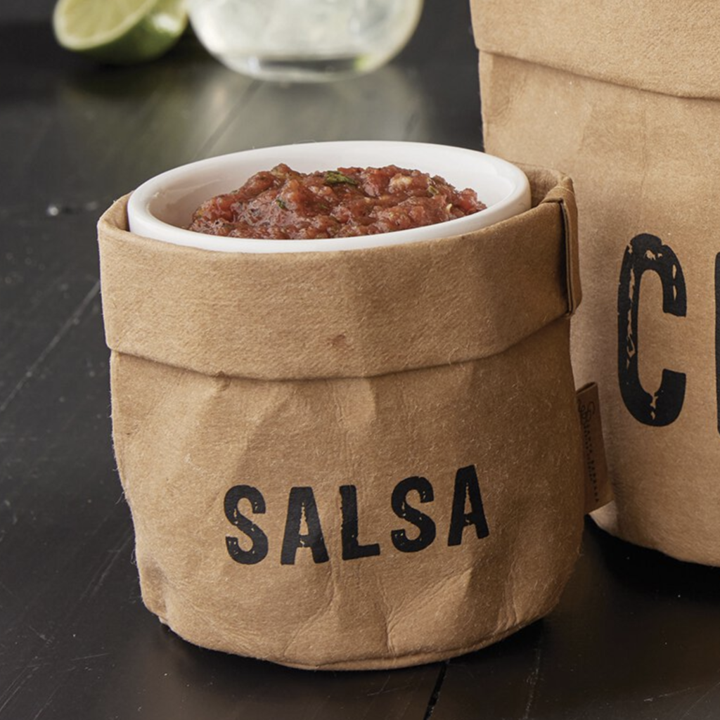 Washable Paper Holder - Salsa