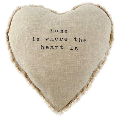 Heart Home Pillow