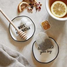 Tea Bag Rest- Let me Hold Your Bag