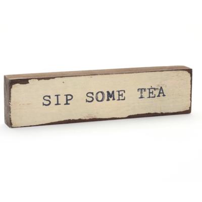 Sip Some Tea Timber Bit