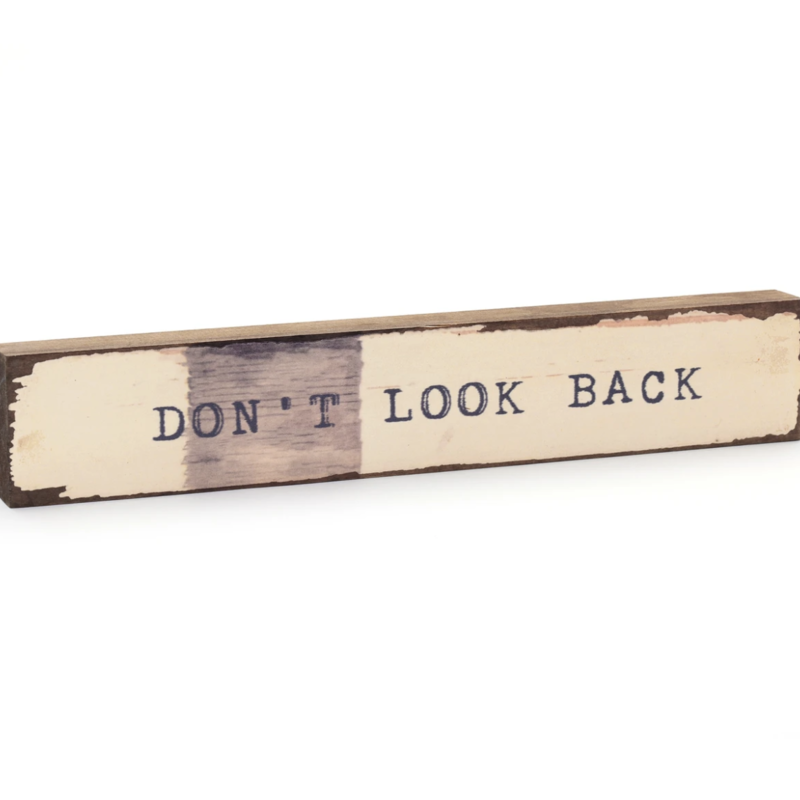 Don't Look Back Timber Bit