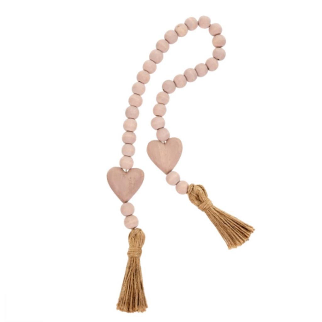 Heart Blessing Beads - Blush