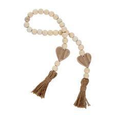 Natural Heart Beads