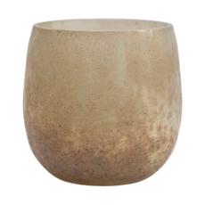 Iridescent Glass Tealight Holder