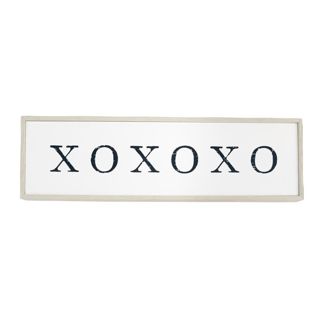 XOXOXO Wood Sign