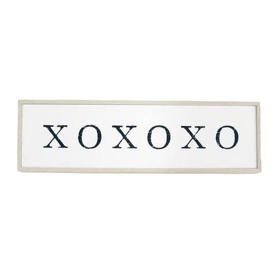 XOXOXO Wood Sign