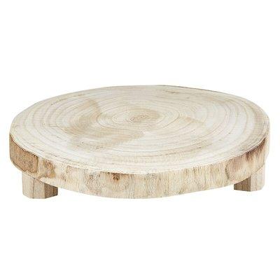 Medium Natural Wood Riser
