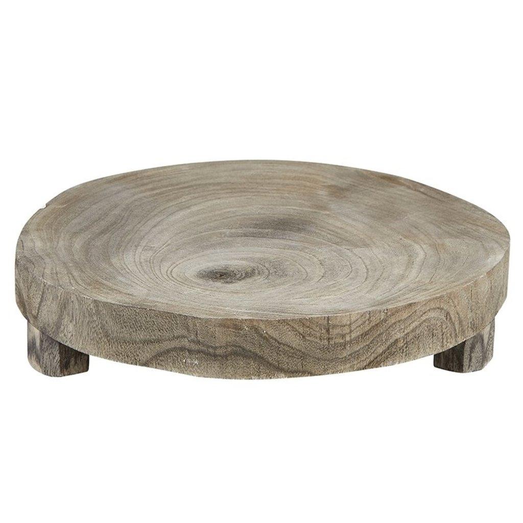 Medium Grey Wood Riser