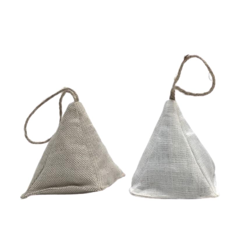 Lavender Linen Pyramid Sachets