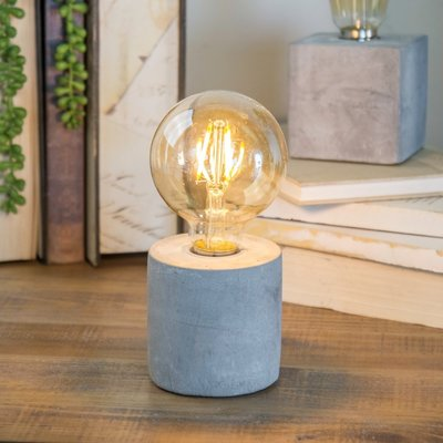 Cement Round Base Light