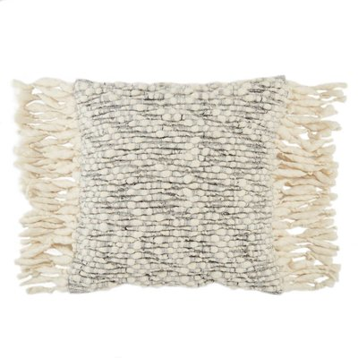 Silver Birch Angora Pillow