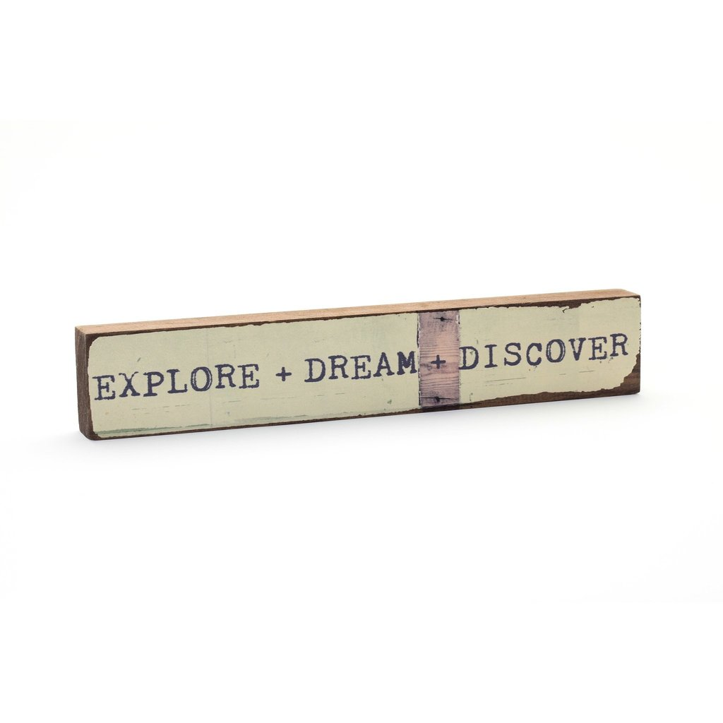 Explore, Dream, Discover Timber Bit