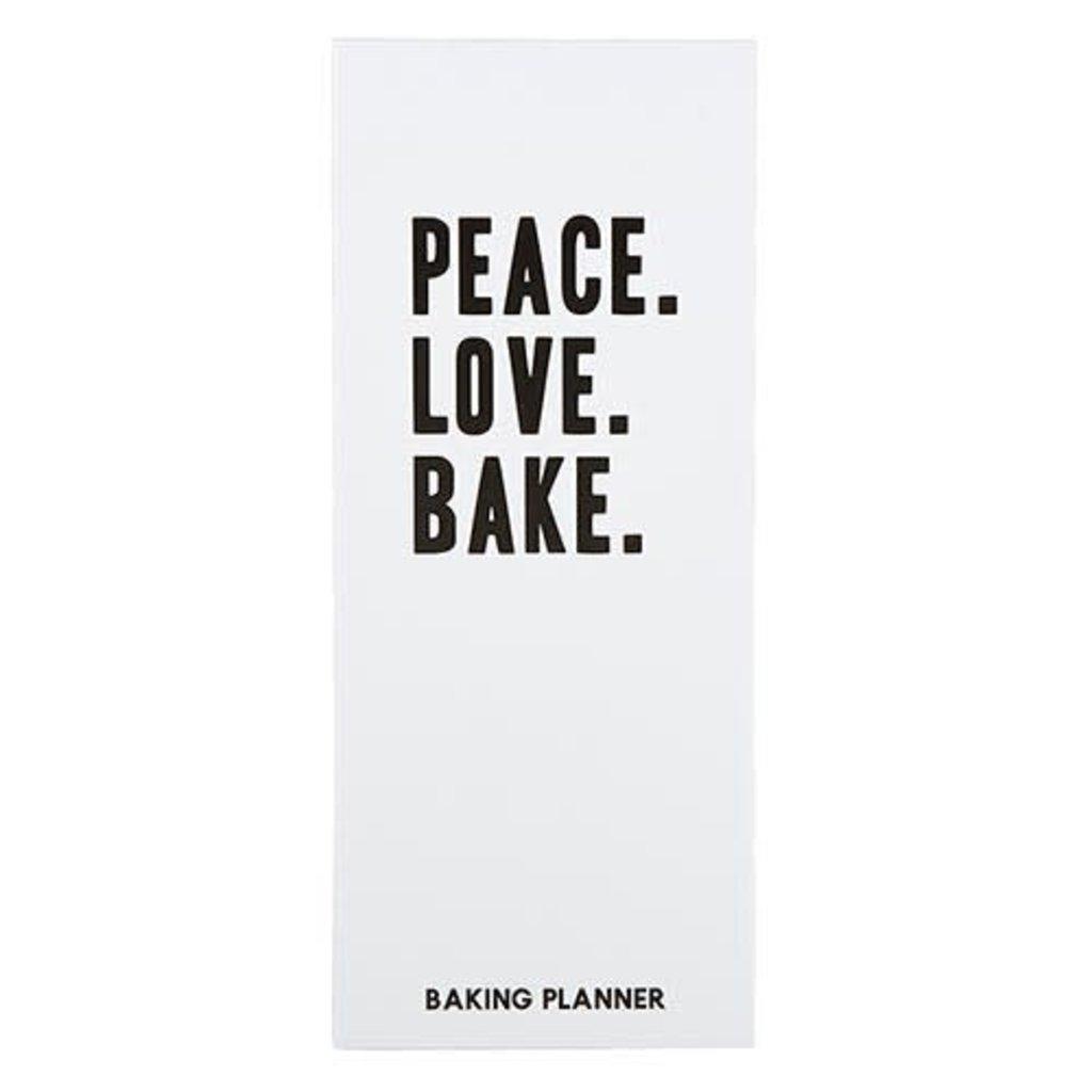 Peace. Love. Bake. Planner