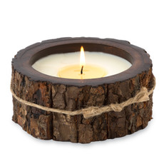 Tree Bark Candle