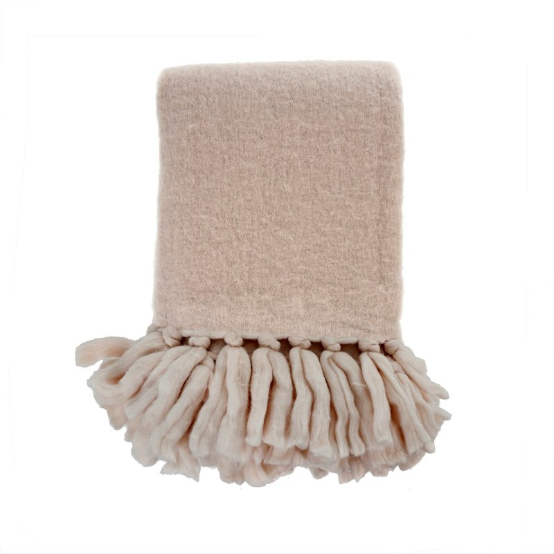 Dusty Taupe Oslo Throw