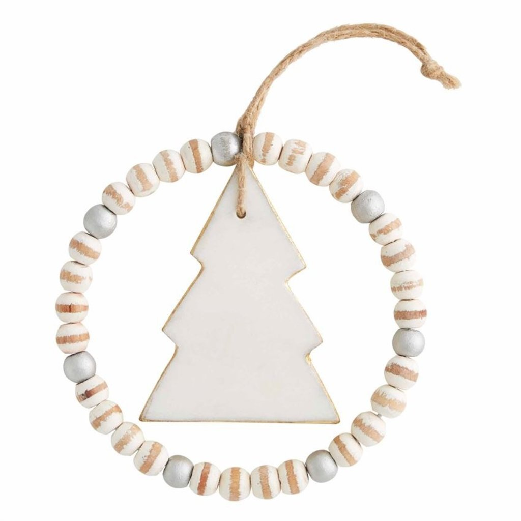 Beaded Marble Ornaments